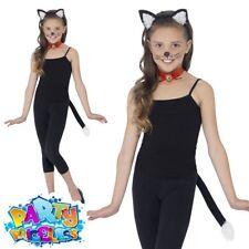 Child Cat Kit World Book Day Week Fancy Dress Accessory Boys Girls Kids