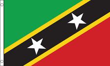 St Kitts Flag Choice Polyester 5x3' 3x2',Hand Flag,Table Flag.Free P&P