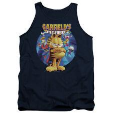 Garfield Dvd Art Mens Tank Top