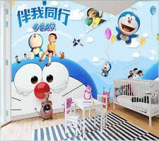 Smart Bear Doraemon 3D Full Wall Mural Photo Wallpaper Printing Home Kids Decor