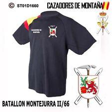 CAMISETAS TECNICAS CAZADORES DE MONTAÑA: BATALLON MONTEJURRA II/66  M1