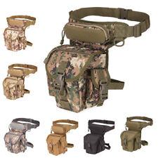 Tactical Molle Fanny Pack Waist Bag Drop Leg Military Thigh Pouch Photograph