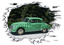 1958 Green DKW Custom Hot Rod Trees T-Shirt 58 Muscle Car Tee's