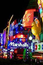 Las Vegas Neon signos en la tira Nevada USA Fotografía foto impresión de arte cartel