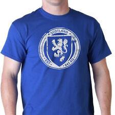 Lion Rampant Scotland Scottish Flag pride kiss me futbol soccer vintage T-Shirt