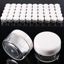 50-100pcs 3g 5g Bote Vacío Contenedor Plástico para Viaje Crema Polvos Sombra