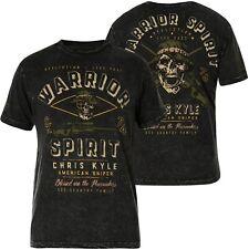 AFFLICTION T-Shirt CK Valor Schwarz T-Shirts