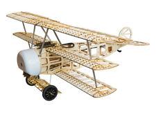 Balsawood Electric Triplane 770mm Fokker DR.1 Airplane KIT Unassembled for Adult