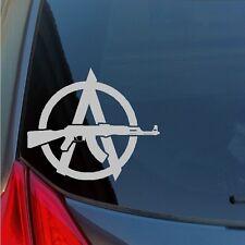 Anarchy AK47 Rifle vinyl sticker decal 2nd Amendment gun rights NRA SKS russian