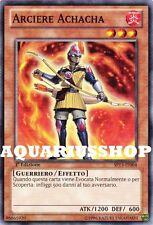 Yu-Gi-Oh! Arciere Achacha SP13-IT004 Archer Fortissima Carta di Yuma Zexal Nuovo