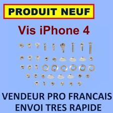 ✖ KIT COMPLET DE TOUTES LES VIS DE L'IPHONE 4 4G ✖ NEUF GARANTI EXPEDITION 24H