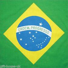 Brazilian Flag Brazil Bandana Headwear/Hairband Bandanna Scarf Wrist Wrap B3