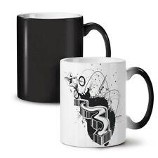 Epic BMX Stunt Man NEW Colour Changing Tea Coffee Mug 11 oz   Wellcoda