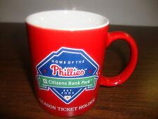 "Philadelphia Phillies Mug---Season Ticket Holder---Citizens Bank Park---4""--2011"
