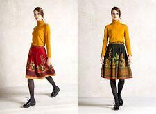 Jupe IVKO rouge laine mérinos jupe jupe