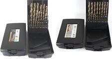 Ruko Terrax HSSE-Co5 Spiralbohrer Metallbohrer 19-tlg. oder 25-tlg. in Rosebox