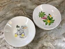 Set Of 4 Pasta Bowls Porcelain Pink Flamingo Or Romanza You Choose New.