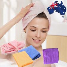 Magic Soft Microfiber Bath Towel Hair Dry Hat Cap Quick Drying Lady's Bath Tool