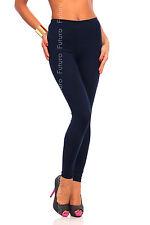Longue Marine Premium Leggings Coton Confortable & Élastique Pantalon Tailles