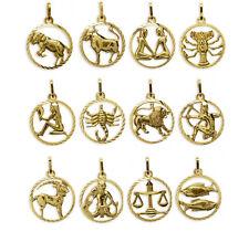 375 ECHT GOLD *** Anhänger Sternzeichen 15 mm Tierkreiszeichen Zodiak