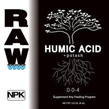 RAW NPK Organic Soluble Nutrients All Sizes Original Packaging - Humic Acid