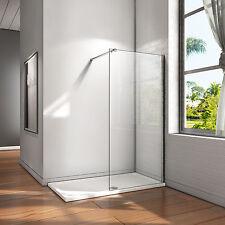 30-160cm Walk in Dusche 10mm ESG Nano Glas Duschwand Duschkabine Duschabtrennung