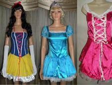 Sexy Sleeping Beauty Cinderella Snow White Costume Disney Inspired Dress M L