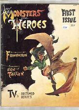 1967 MONSTERS AND HEROES VOL 1 # 1 2.0 HISTORY OF FRANKENSTEIN