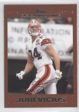 2007 Topps Copper #133 Joe Jurevicius Cleveland Browns Football Card