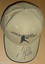 JASON KIDD SIGNED jasonkidd.com CAP MILWAUKEE BUCKS BROOKLYN NETS NY KNICKS COA