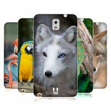 Funda HEAD famoso animales Tpu Gel Back Funda Para Samsung Galaxy Note 3 N9002