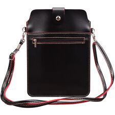 Slim Tablet Pouch Leather Crossbody Shoulder Bag For Samsung Galaxy Tab A 8.0