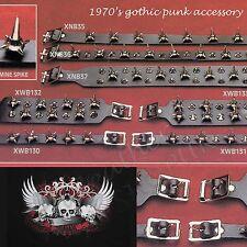 40 Years of gothic punk MINE con borchie di pelle Accessorio UK handmade