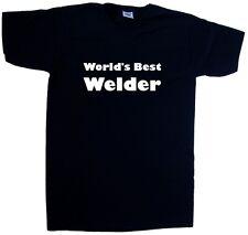 World's best soudeur col en V T-shirt