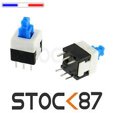 1310# 3 à 24 pcs bouton poussoir interrupteurs PCB 8x8mm DIP switch autobloquant
