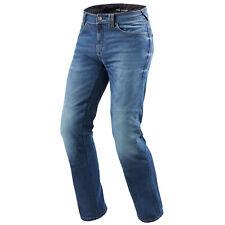 REV'IT! Philly 2 LF Uomo Moto Jeans STD / CORTO/LUNGO - MEDIO BLU