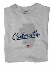 Carterville Illinois IL Ill T-Shirt MAP
