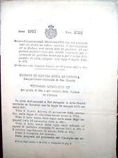 1917 UFFICIO INVESTIGATIVO ROMA E PADOVA GUARDIA CIVICA