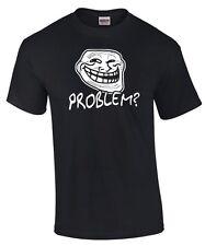 T-SHIRT | meme | Trollface | Problem ? | Troll | Nerd | Kult Funshirt