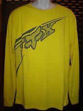 Fox Racing Congressor Long Sleeve Tech Thermal Shirt Blaze Yellow