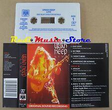 MC URIAH HEEP Live 1986 MARBLE ARCH England no cd lp vhs dvd