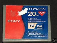 Sony Travan TR-5 10/20GB Data Cartridge
