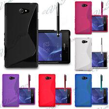 Soft Slim TPU Gel Silicone Housse Coque Etui Case Cover Pour Sony Xperia M2 S50h