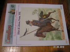 Osprey Cavalier Guerre Napoléon N°61 Watarllo Prusse
