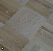 "Prime Grade 14"" Ash Parquet Flooring - Solid Wood - 22mm Massive Profile - HS40"