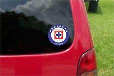 2 (PCS) Cruz Azul La Maquina  Mexico Decals Stickers Full Color/Weather Proof