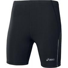 Nuevo pantalón corto ASICS Running Mallas-Negro-para mujeres Damas Chicas Gimnasio Fitness