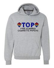 TOP Fine Cigarette Rolling paper graphic hoodie hooded zig zag pot vintage retro