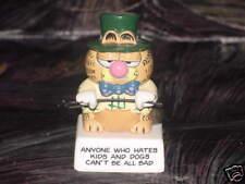 Enesco Garfield W.C Fields Ceramic Figurine Rare