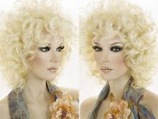 Medium Wavy Curly Blonde Brunette Red Grey Wigs